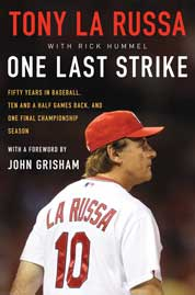 One Last Strike by Tony La Russa Cover