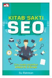 Cover Kitab Sakti SEO oleh Su Rahman