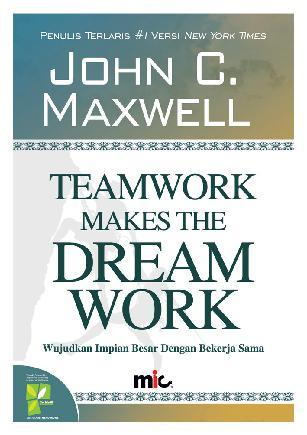Buku Digital Teamwork Makes The Dream Work oleh John C. Maxwell