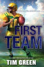First Team by Tim Green Cover