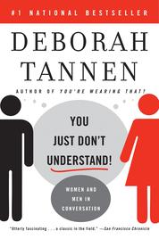 You Just Don't Understand by Deborah Tannen Cover