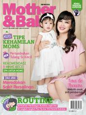 Cover Majalah Mother & Baby Indonesia Juli 2017