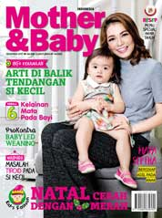 Cover Majalah Mother & Baby Indonesia Desember 2017