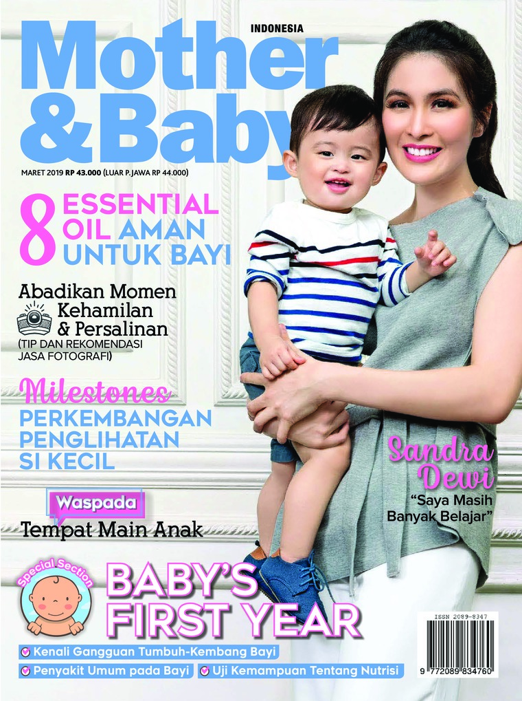 Mother & Baby Indonesia Digital Magazine March 2019