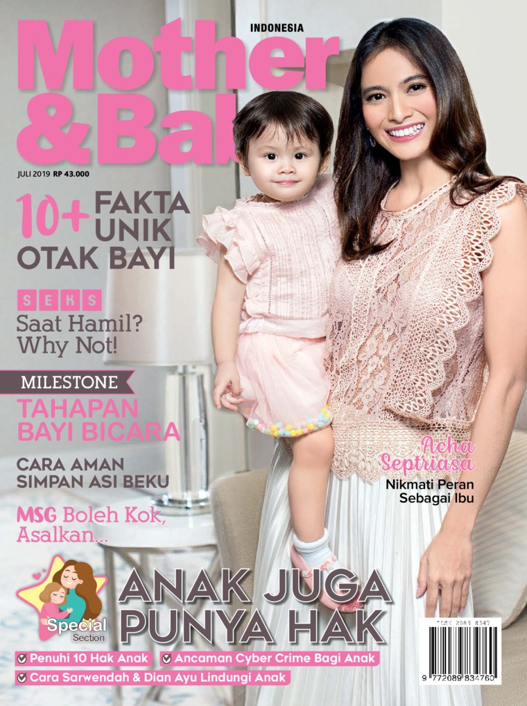 Mother & Baby Indonesia Digital Magazine July 2019