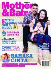Cover Majalah Mother & Baby Indonesia Februari 2018