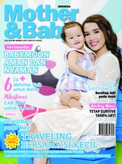 Cover Majalah Mother & Baby Indonesia Juni 2018