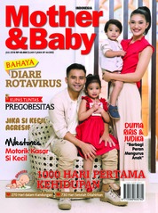 Cover Majalah Mother & Baby Indonesia Juli 2018
