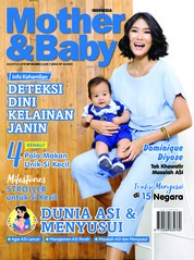 Cover Majalah Mother & Baby Indonesia Agustus 2018