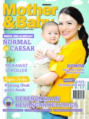Cover Majalah Mother & Baby Indonesia Oktober 2018