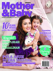 Cover Majalah Mother & Baby Indonesia November 2018