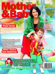 Cover Majalah Mother & Baby Indonesia Desember 2018