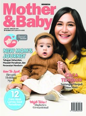 Cover Majalah Mother & Baby Indonesia Januari-Februari 2019