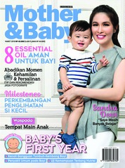 Cover Majalah Mother & Baby Indonesia Maret 2019