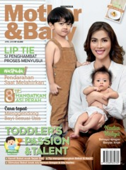 Cover Majalah Mother & Baby Indonesia April 2019