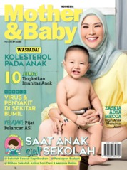 Mother & Baby Indonesia Magazine Cover May 2019