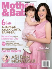 Mother & Baby Indonesia Magazine Cover August 2019