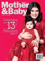 Mother & Baby Indonesia Magazine Cover September 2019