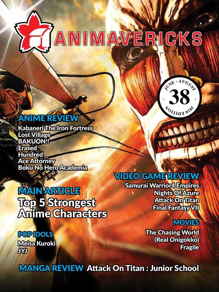 ANIMAVERICKS Digital Magazine ED 38 June 2016