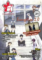 ANIMAVERICKS Magazine Cover ED 21 2010