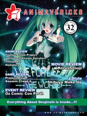 ANIMAVERICKS Magazine Cover ED 32 2014