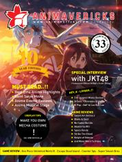 ANIMAVERICKS Magazine Cover ED 33 2014