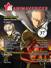 ANIMAVERICKS Magazine Cover ED 37 February 2016