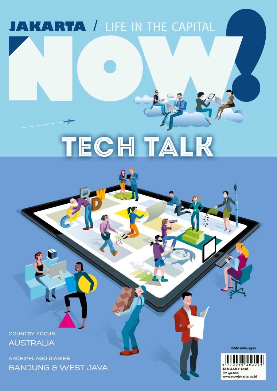 Majalah Digital NOW! Jakarta Januari 2018