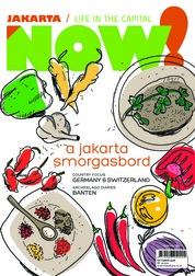 Cover Majalah NOW! Jakarta
