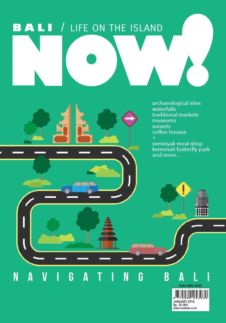 Majalah Digital NOW! Bali Januari 2018