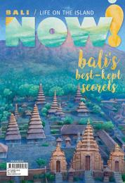 NOW! Bali Magazine Cover October 2016
