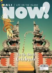 Cover Majalah NOW! Bali Desember 2016