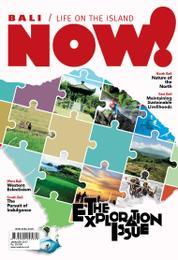 NOW! Bali Magazine Cover January 2017