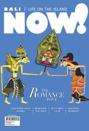 NOW! Bali Magazine Cover February 2017