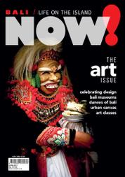 NOW! Bali Magazine Cover June 2017
