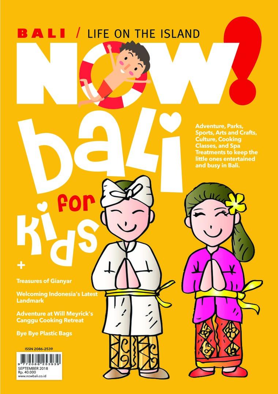 Majalah Digital NOW! Bali September 2018