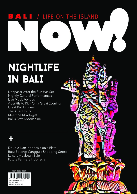 NOW! Bali Digital Magazine November 2018