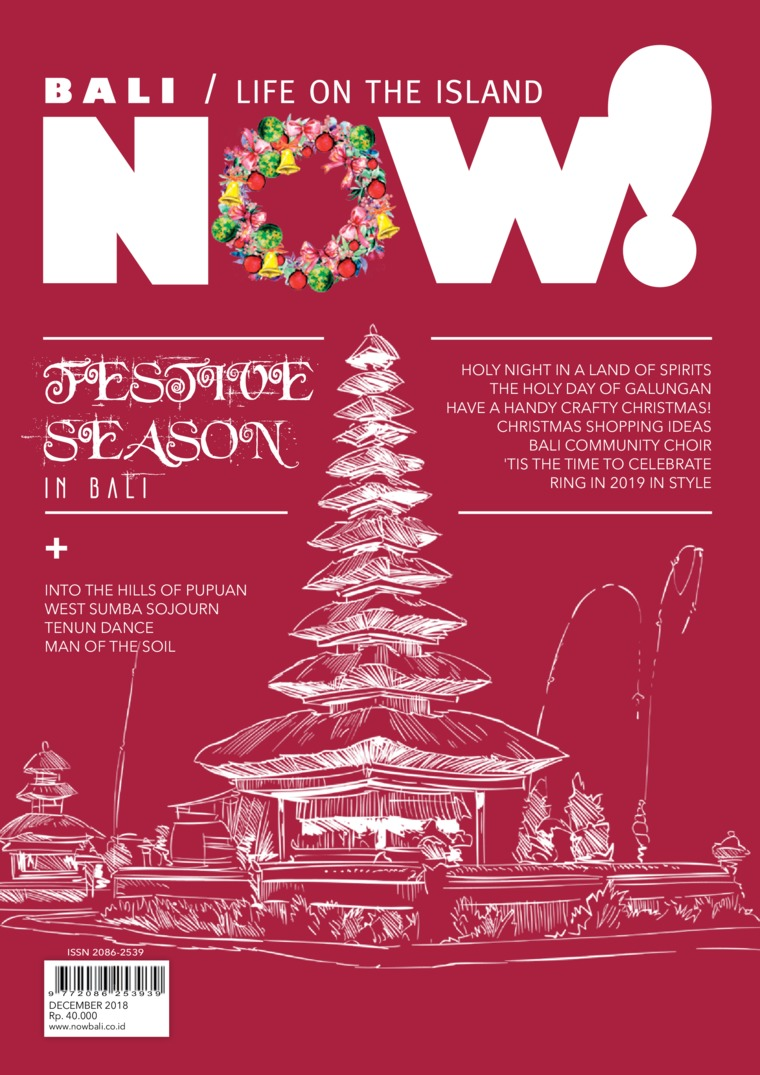 NOW! Bali Digital Magazine December 2018