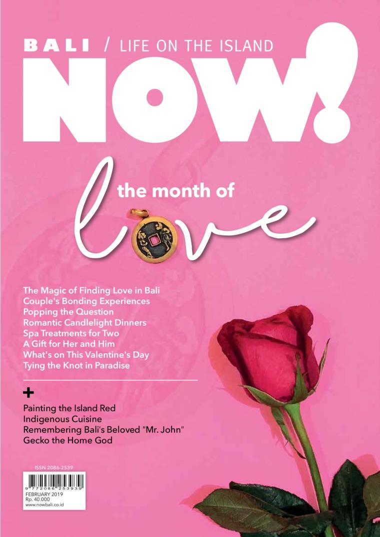 Majalah Digital NOW! Bali Februari 2019