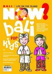 NOW! Bali Magazine Cover