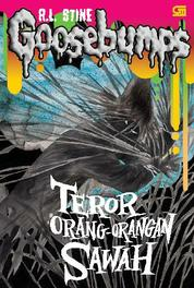 Cover The Scarecrow Walks at Midnight - Teror Orang-Orangan Sawah oleh R.L. Stine