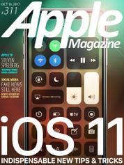 Cover Majalah Apple Magazine US ED 311 Oktober 2017