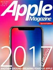 Cover Majalah Apple Magazine US ED 321 Desember 2017