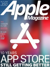 Apple Magazine US Magazine Cover ED 350 July 2018