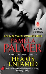 Hearts Untamed by Pamela Palmer Cover