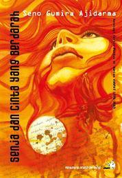 Cover Senja dan Cinta yang Berdarah, Antologi Cerita Pendek Seno Gumira Ajidarma oleh