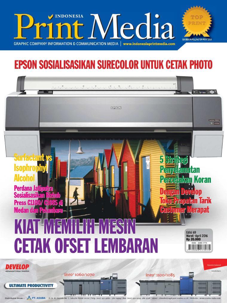 Majalah Digital Print Media Indonesia ED 69 Februari 2016