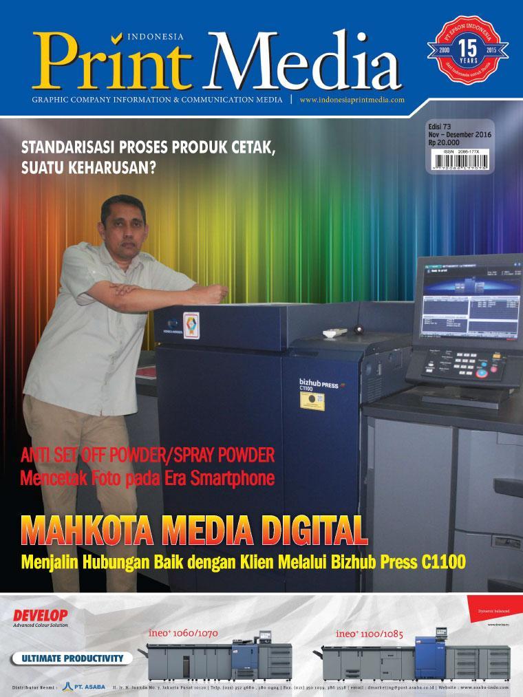Majalah Digital Print Media Indonesia ED 73 November 2016