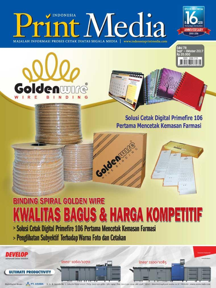 Majalah Digital Print Media Indonesia ED 78 Agustus 2017