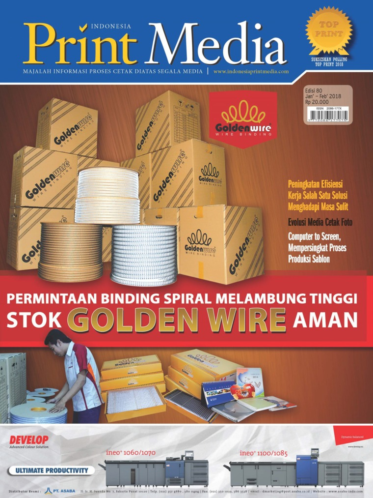 Print Media Indonesia Digital Magazine ED 80 January 2018